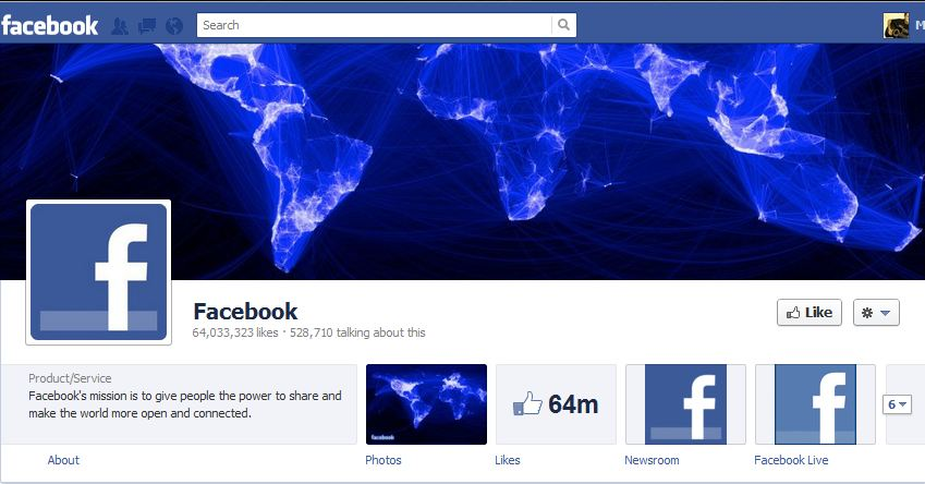 Facebook Brand Timeline