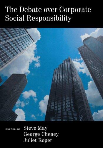 Debate over Corporate Social Responsibility - Mike Jeffs Online Marketing Blog