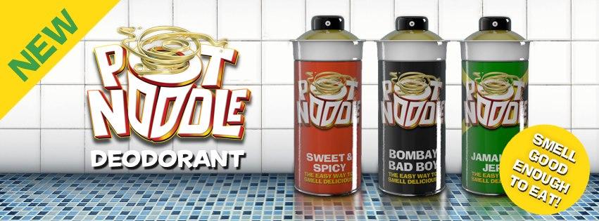 Pot Noodle Deodorant