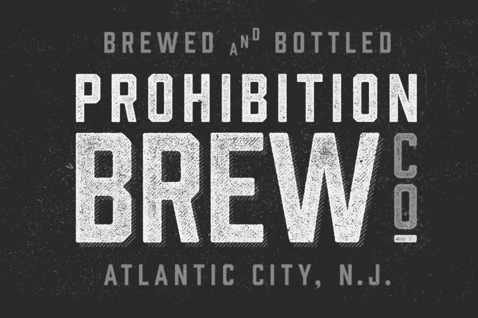 Prohibition Typeface on Creative Market